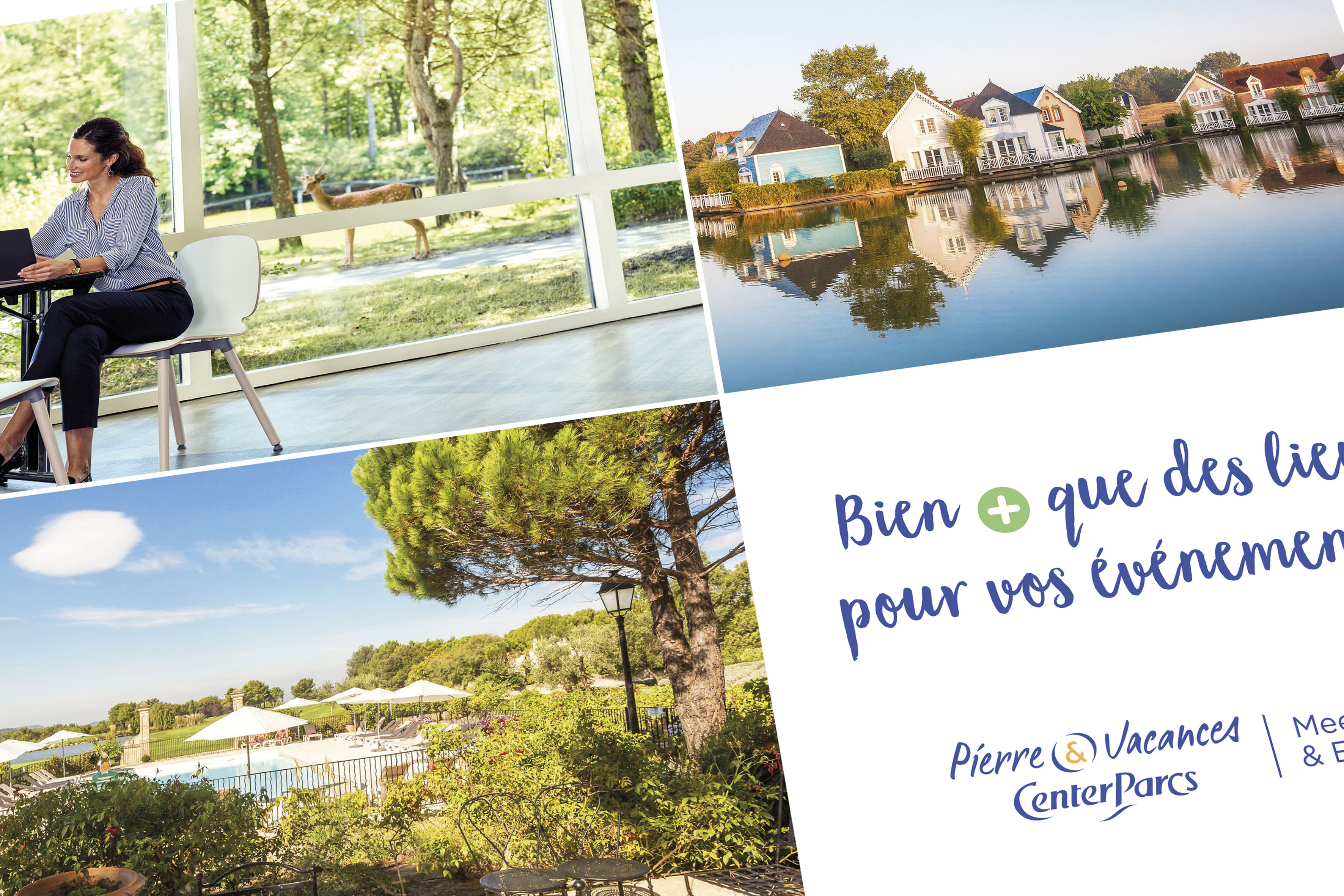 BROCHURE MICE PIERRE & VACANCES CENTER PARCS